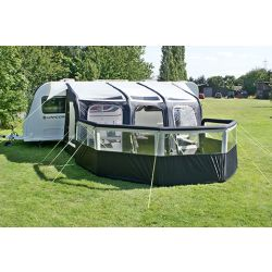 Leisurewize Air Break 8000 Inflatable 5 Panel Windbreak