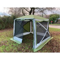 Quest Leisure Screen House 4 Pro Spring Up Gazebo