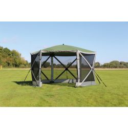 Quest Leisure Screen House 6 Spring Up Gazebo