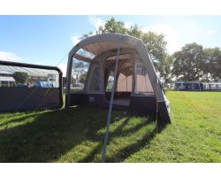Vango Galli Air TC Inflatable Awning 2021 attached to VW Campervan