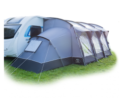 Royal Leisure Awning Annex for Inflatable Caravan Porch Awnings