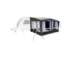 Kampa Club Air All Season 390 Inflatable Caravan Porch Awning