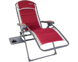 Quest Leisure Bordeaux Pro Relax Chair With Side Table