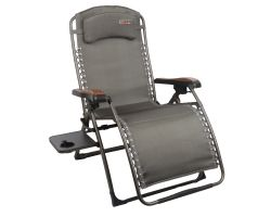 Quest Leisure Naples Pro Relax Chair With Side Table