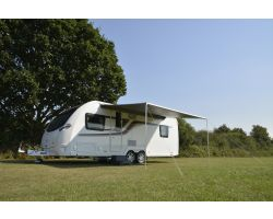 Kampa Revo Zip 400 Roll Out Awning for Caravans and Motorhomes