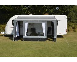 Kampa Revo Zip Privacy Room 400 for Roll Out Awning for Caravans and Motorhomes