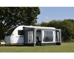 Kampa Revo Zip Privacy Room 350 for Roll Out Awning for Caravans and Motorhomes