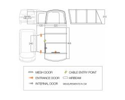 Vango Rhone Low Air Driveaway Awning