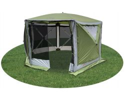 Quest Leisure Screen House 6 Pro Spring Up Gazebo