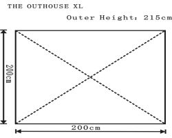 Outdoor Revolution Outhouse XL