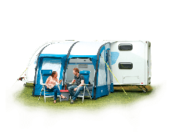 Royal Wessex Air 260 Inflatable Caravan Porch Awning