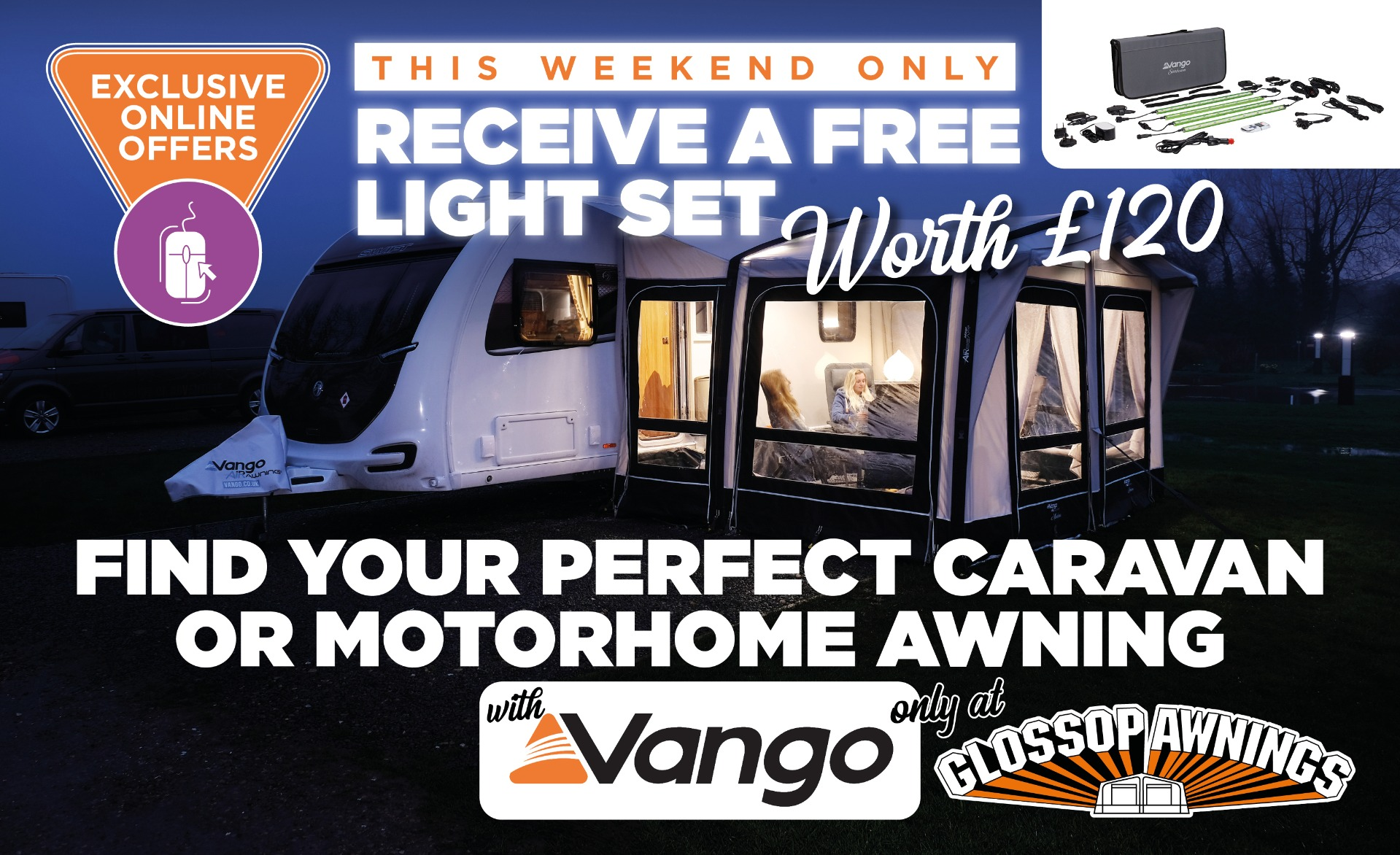 Vango Promotion Weekend