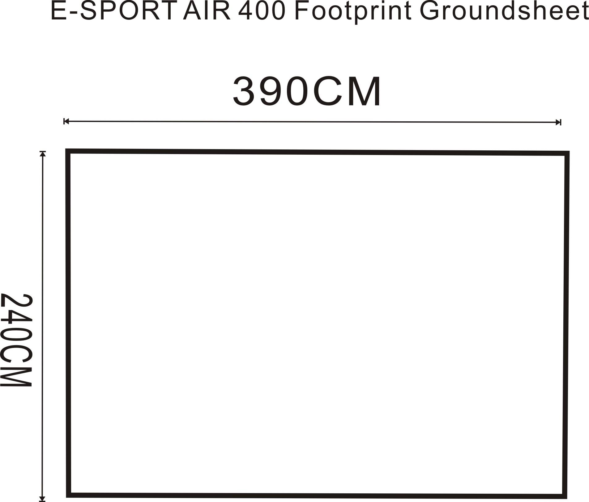 E Sport Air 400 Footprint