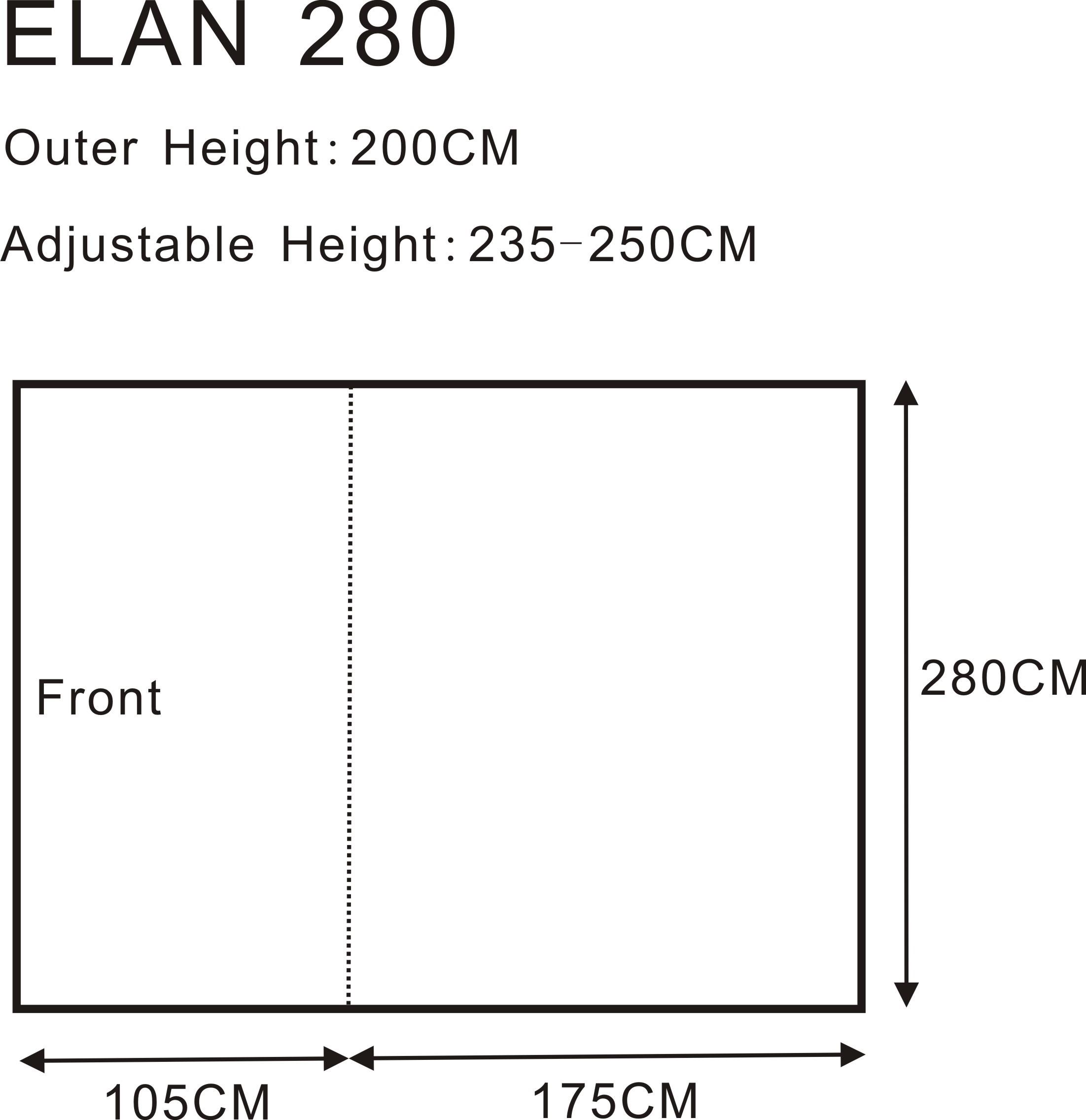Elan 280 Floorplan