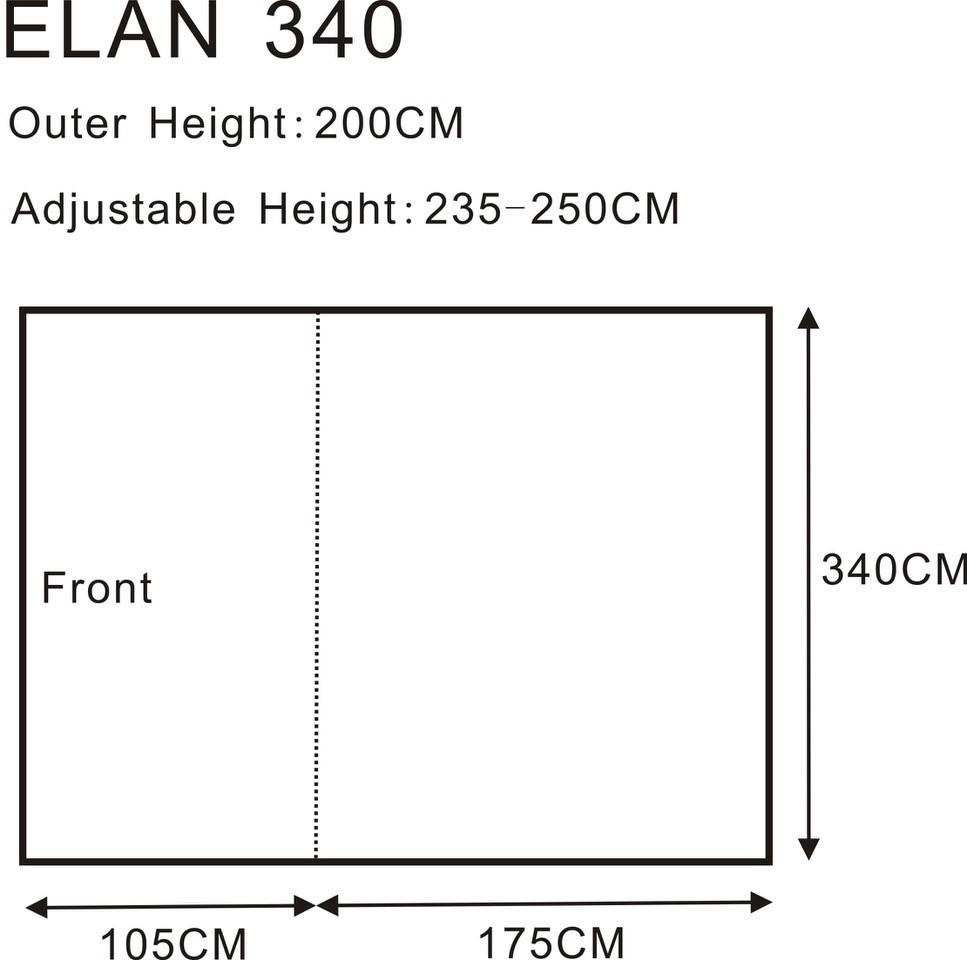 Elan 340 Floorplan